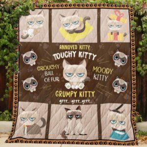 Grumpy Cat Grr Quilt