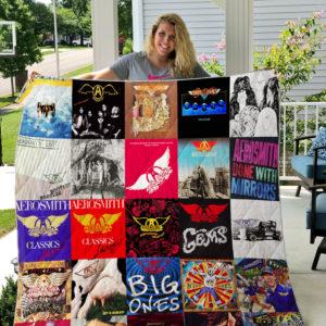 Aerosmith Style 2 Quilt Blanket