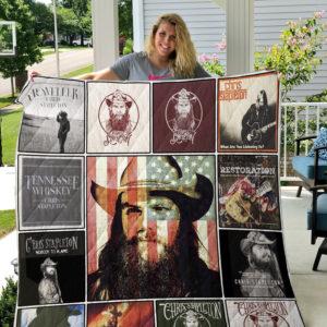 Chris Stapleton Quilt Blanket