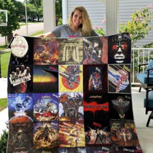Judas Priest Style 2 Quilt Blanket