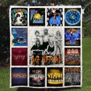 Def Leppard Quilt Blanket