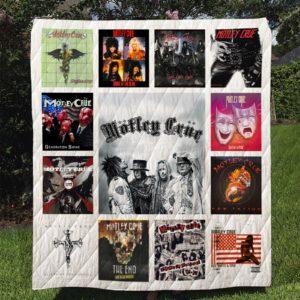 Motley Crue Quilt Blanket