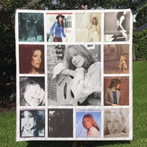 Carly Simon Quilt Blanket