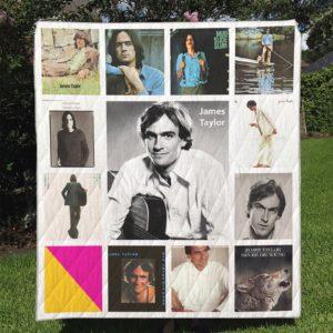 James Taylor Quilt Blanket