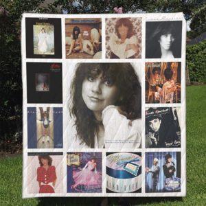Linda Ronstadt Quilt Blanket Full