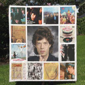 Mick Jagger Quilt Blanket Full