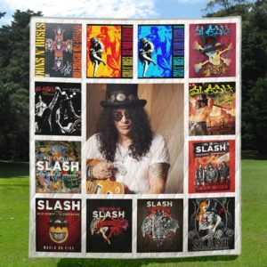 Slash Quilt Blanket Full