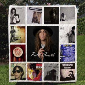 Patti Smith Quilt Blanket