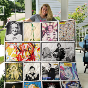 Pete Townshend Quilt Blanket