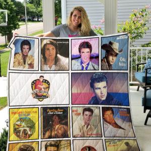 Ricky Nelson 2 Quilt Blanket