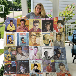 Ricky Nelson Quilt Blanket