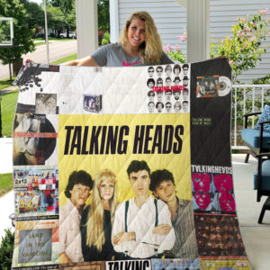 Talking Heads Style 2 Quilt Blanket