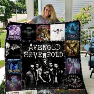 Avenged Sevenfold Style 2 Quilt Blanket