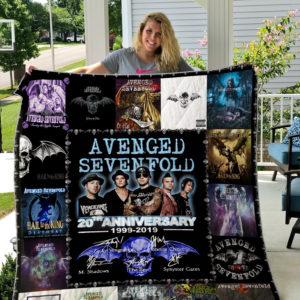 Avenged Sevenfold Style 3 Quilt Blanket