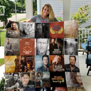 Blake Shelton Style 2 Quilt Blanket