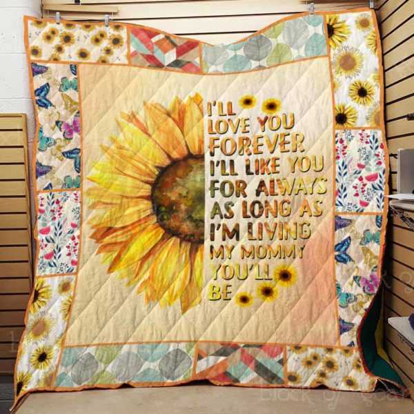 I Love You, Mom Quilt