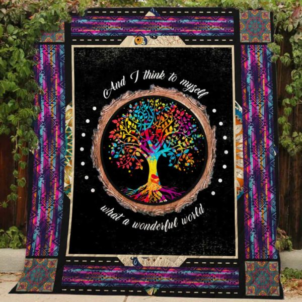 What a wonderful world Quilt