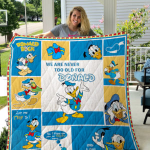 Donald Duck Quilt Blanket
