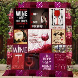 Wine Quilt
