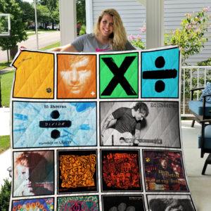 Ed Sheeran Quilt Blanket
