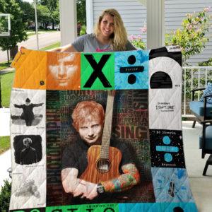 Ed Sheeran Style 2 Quilt Blanket
