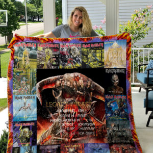 Iron Maiden Style 3 Quilt Blanket