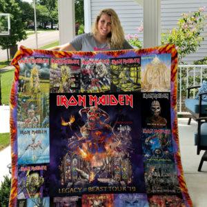 Iron Maiden Style 4 Quilt Blanket