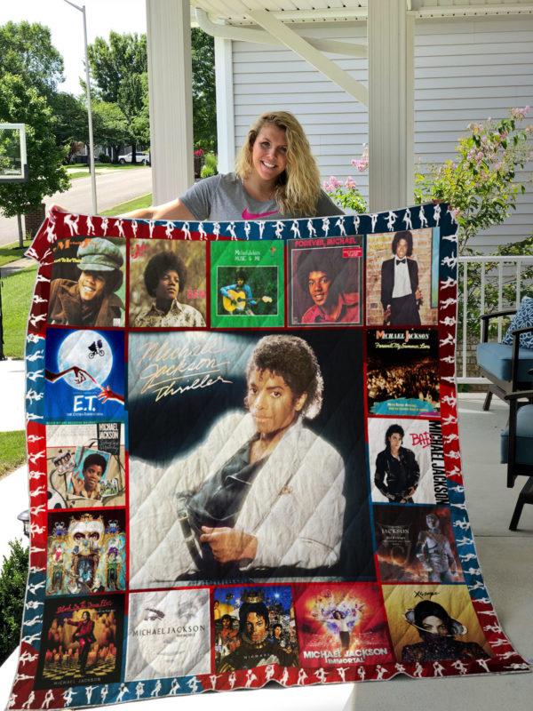 michael jackson Style 2 Quilt Blanket