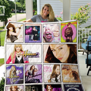 Miley Cyrus Quilt Blanket