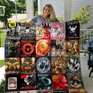 Napalm Death Style 2 Quilt Blanket