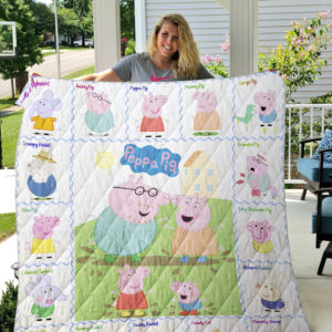 Peppa Pig 2 Quilt Blanket