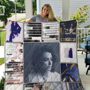 Pronoun Quilt Blanket