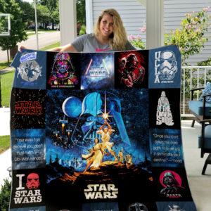 Star Wars Style 2 Quilt Blanket