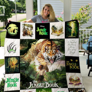 THE JUNGLE BOOK (2016)_2 Quilt Blanket