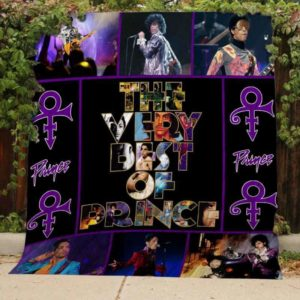 The Very Best of Prince Quilt Blanket