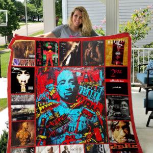 Tupac Shakur Style 2 Quilt Blanket